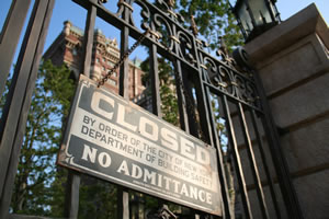 タワー・オブ・テラー タワー・オブ・テラー Closed by Order of the City of New York Department of